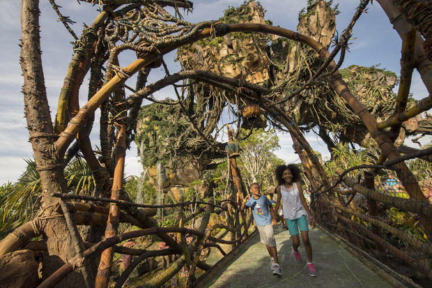 Disney World shows off new attraction World of Avatar
