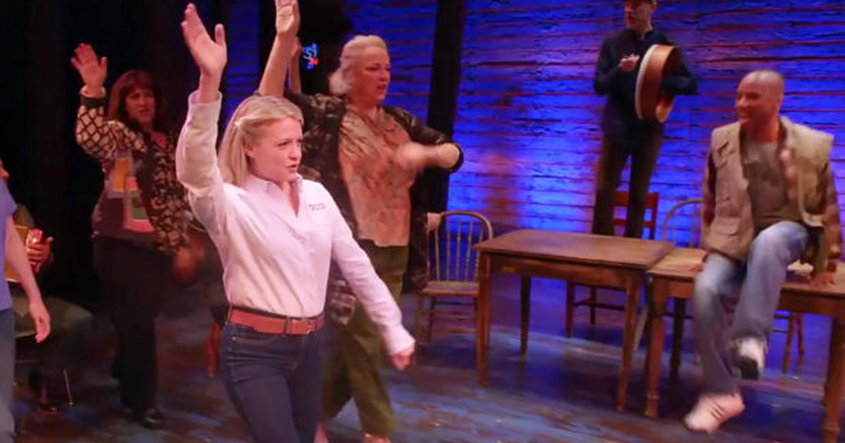 Quot Come From Away Quot Finds The Light In Tragedy Cbs This