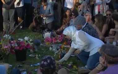 Portland honors heroes stabbed on train