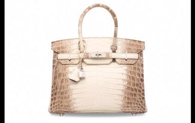 World's most expensive handbag sold at auction