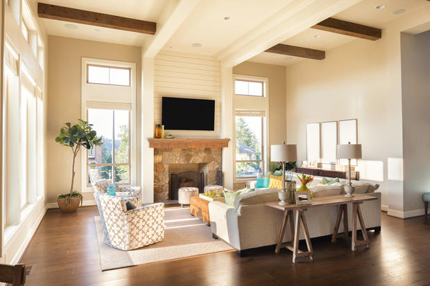 Taupe Living Room 1 809 7 Paint Colors That Can Boost The Value Of Your Home Cbs News