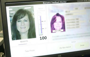Facial recognition technology arrives at the airport
