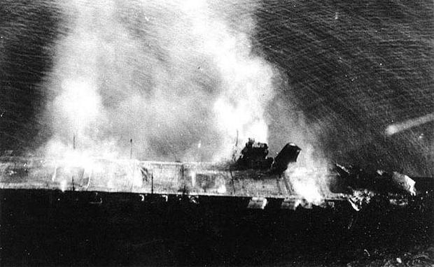 Akagi - 1942: The Battle of Midway - Pictures - CBS News