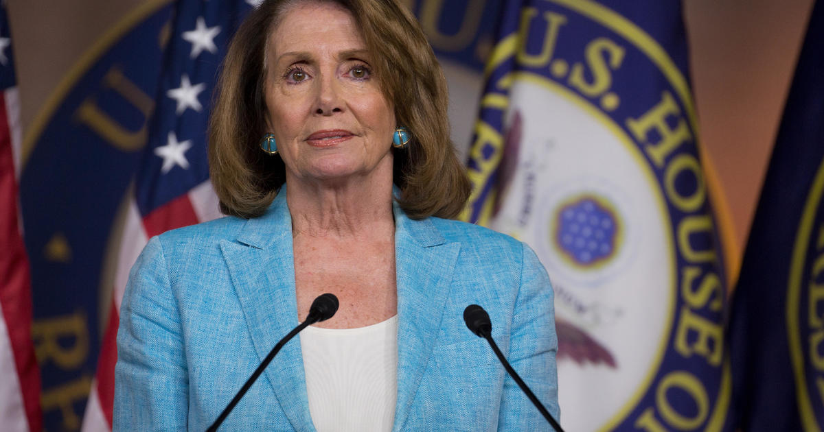 Pelosi Lashes Out At Republicans Blaming Democrats For