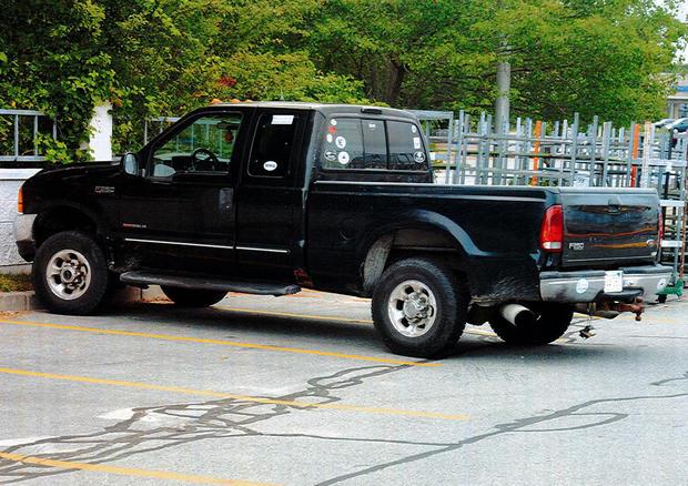 Conrad Roy's truck