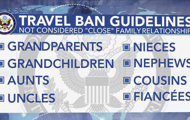 What you need to know about Trump's revived travel ban rollout