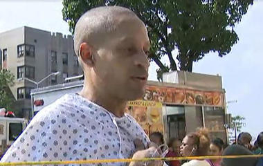 Patient speaks about shooting at New York City hospital