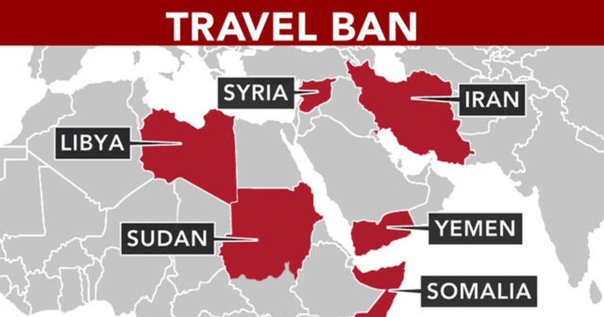 Now In Effect Details Of Trumps Travel Ban CBS News