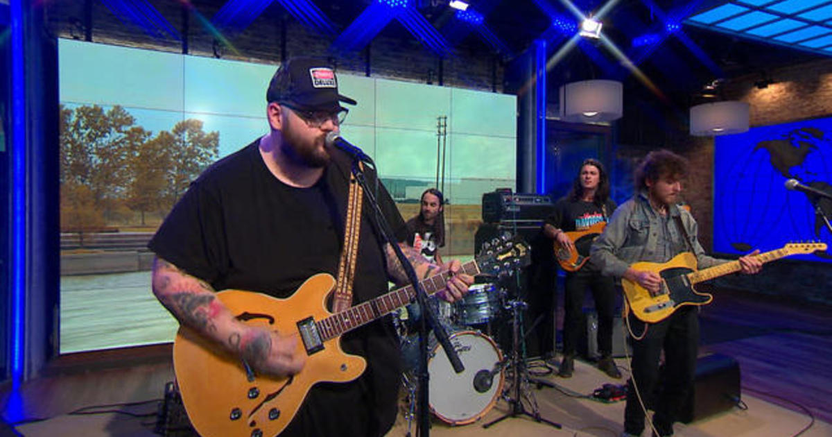 Saturday Sessions John Moreland Performs Sallisaw Blue Cbs News