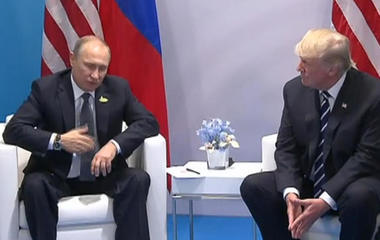 President Trump and President Putin meet for over two hours