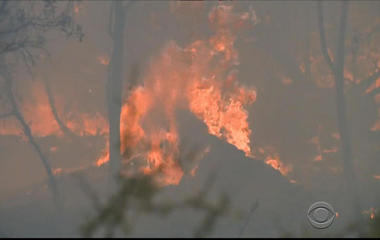 Record-breaking heat fuels wildfires