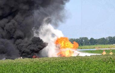 Deadly Marine plane crash in Mississippi