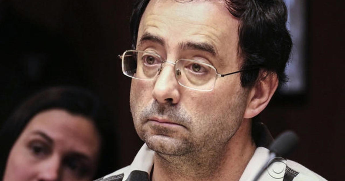 Ex-Usa Gymnastics Doctor er enig i Plea Deal i Child Porn Case - Cbs News-5600