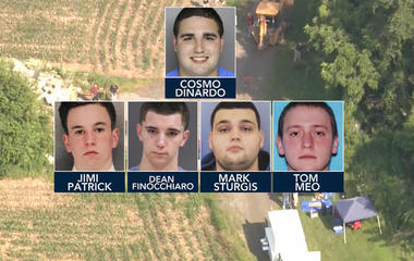 All-out search for four missing men on Pennsylvania farm