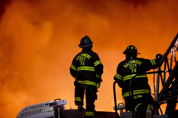 Nice Firefighters And Police Officers   The 20 Deadliest Jobs In America, Ranked    Pictures   CBS News