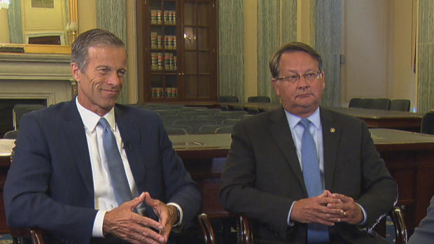 Image result for senator thune and peters