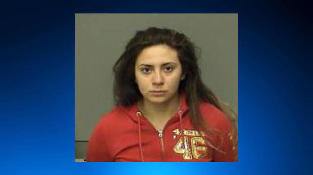 Obdulia Sanchez is seen in a police booking photo that CBS San Francisco station KPIX-TV obtained from the Merced County Sheriff's Office in California.