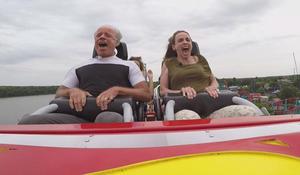"Roller coasters: ""A socially acceptable way to scream"""