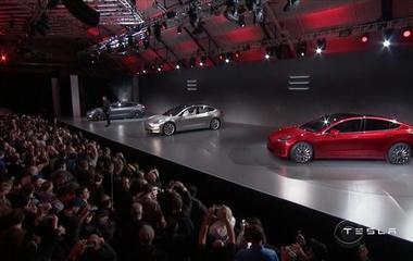 Tesla reveals new Model 3