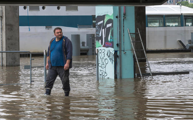 climate change flooding in France