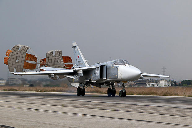 Russian warplanes In Syria