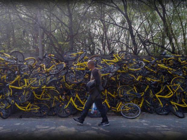 Behind China's booming sharing economy