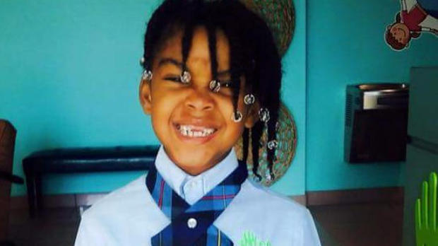 Ki'ari Pope is seen in a photo her family provided to CBS affiliate WPEC-TV in West Palm Beach, Florida.