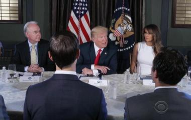 """Fire and fury"": President Trump warns North Korea"