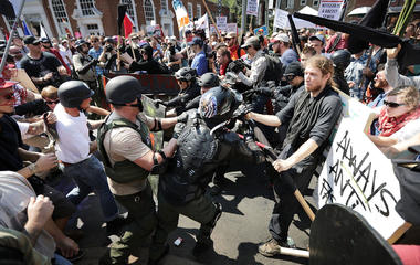 White supremacist rallies in Va. lead to violence