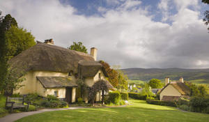 Everything old is new again: Thatched roofs