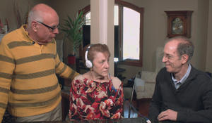 Using music to help Alzheimer's patients