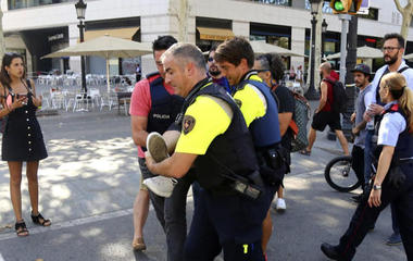 Eyewitness to lethal attack in Barcelona