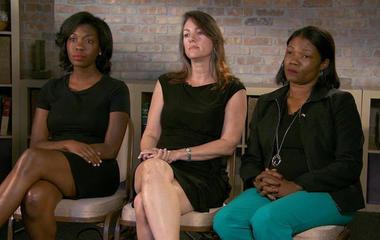 Female Trump voters defend president's Charlottesville response