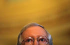 Senate Majority Leader Senator Mitch McConnell (R-KY) attends a news conference following party policy lunch meeting at the U.S. Capitol in Washington, U.S.