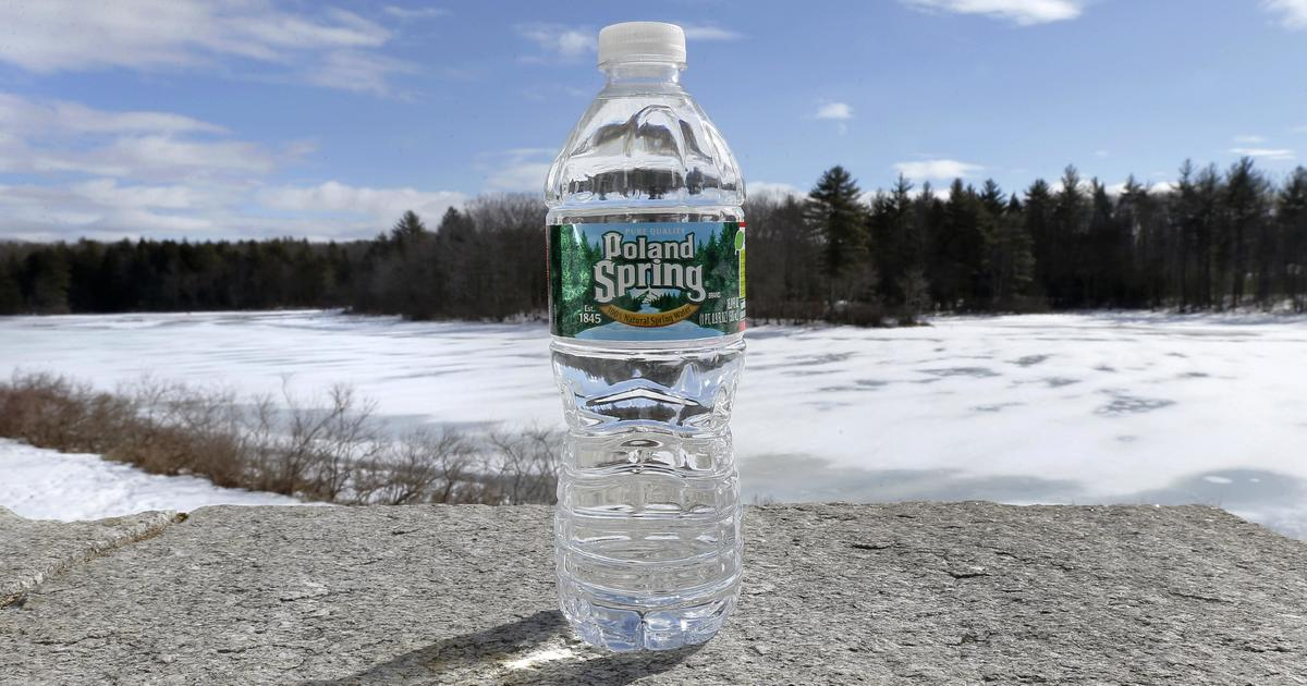 Lawsuit Claims Poland Spring Water Isnt From A Spring Cbs News