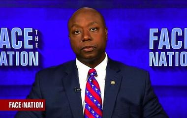 """Sen. Tim Scott: """"It's not what the president says next, it's what he does"""""""