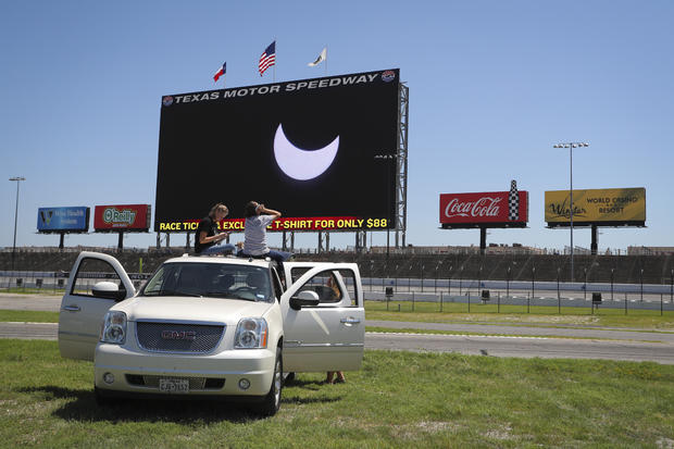 Eclipse Viewing Party at Texas Motor Speedway