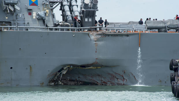 Navy Sacks Two More Commanding Officers Over Fatal Collisions