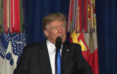 Trump makes decision on troops in Afghanistan