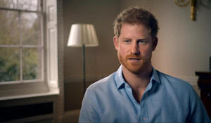 Prince Harry blames paparazzi for mother's death