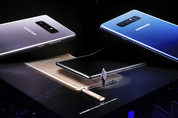 TEC Samsung Note 8 Phone