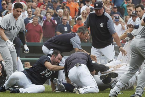 Yankees basebrawl