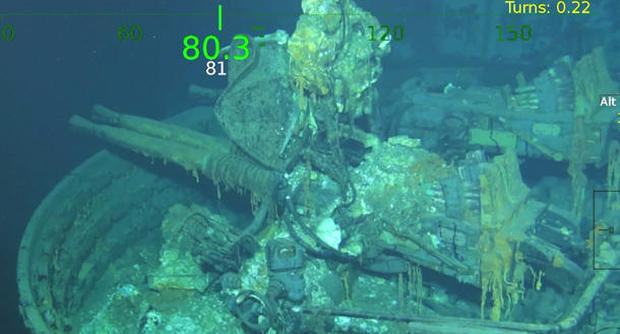 Wreck Wreckage Of Uss Indianapolis Found Pictures