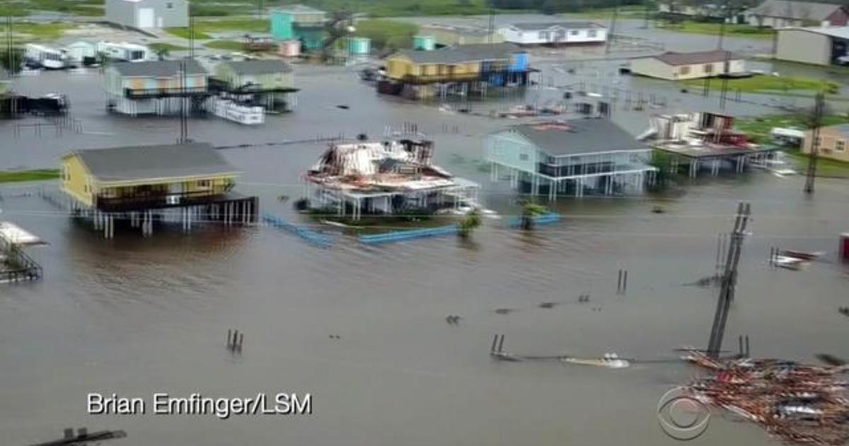 """Intensity of rainfall in Texas """"beyond anything experienced before"""" - Videos - CBS News"""