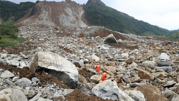 Two killed in China landslide