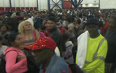 Houston shelters overcrowded