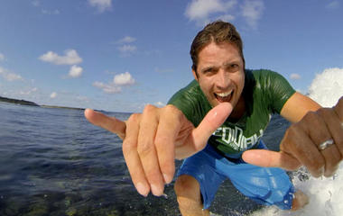 """Stoked"" CEO sets the tone at GoPro offices"
