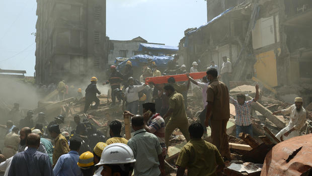 Image result for Bhendi Bazaar building collapse: Death toll mounts to 16