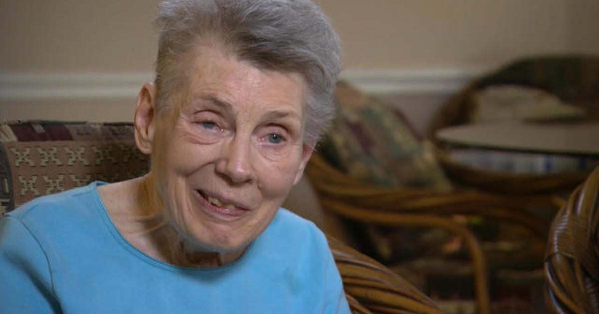 Woman in viral nursing home flooding photo recounts experience - Videos - CBS News