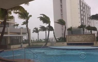 Hurricane Irma lashes Puerto Rico with rain, historic winds
